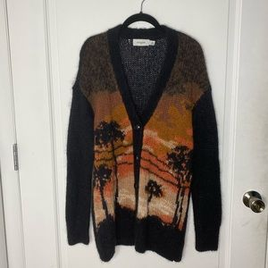 Coach Knitted Cardigan